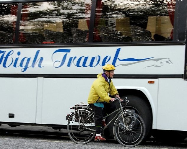 invisible cyclist