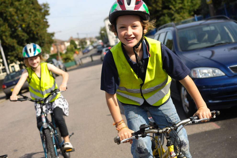 Sustrans Big Pedal Movement
