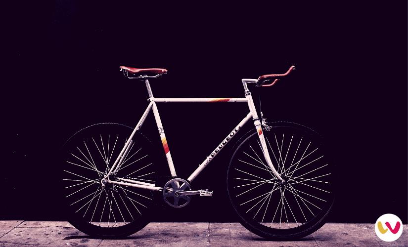 Fixie Peugeot Frame