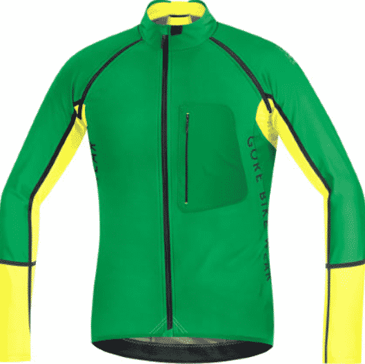 Gore Bike Wear Alp-X Pro Windstopper Softshell Zip-Off Jersey