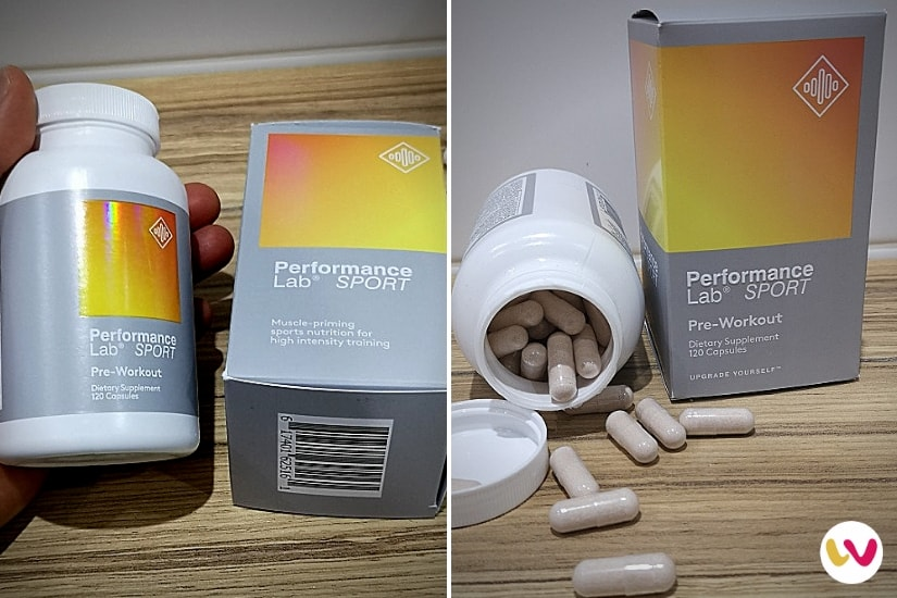 Performance Lab Sport Pre-workout Dosage