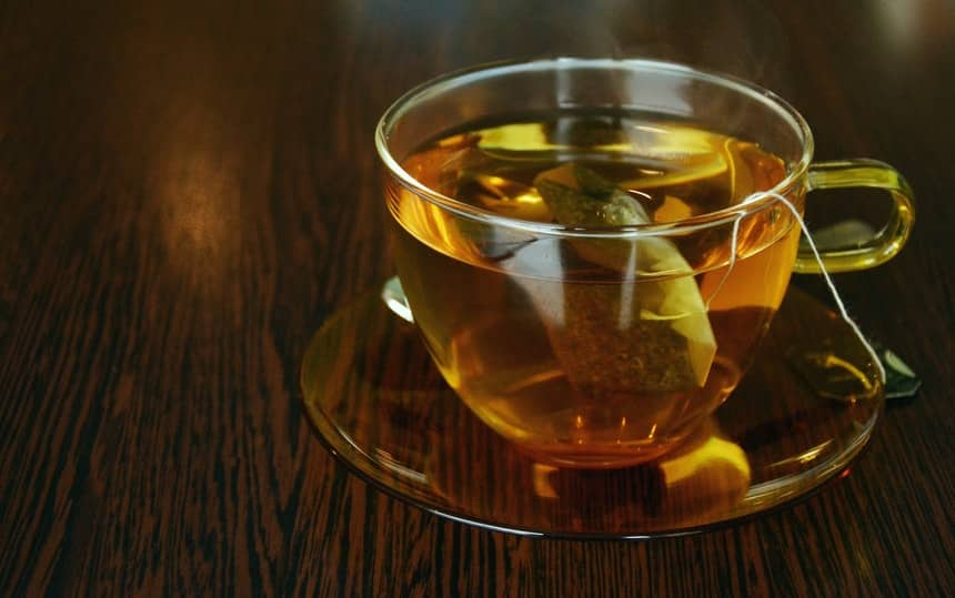 Green tea as a fat burning ingredient