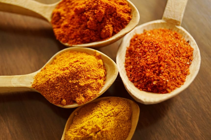 Turmeric as a thermogenic ingredient