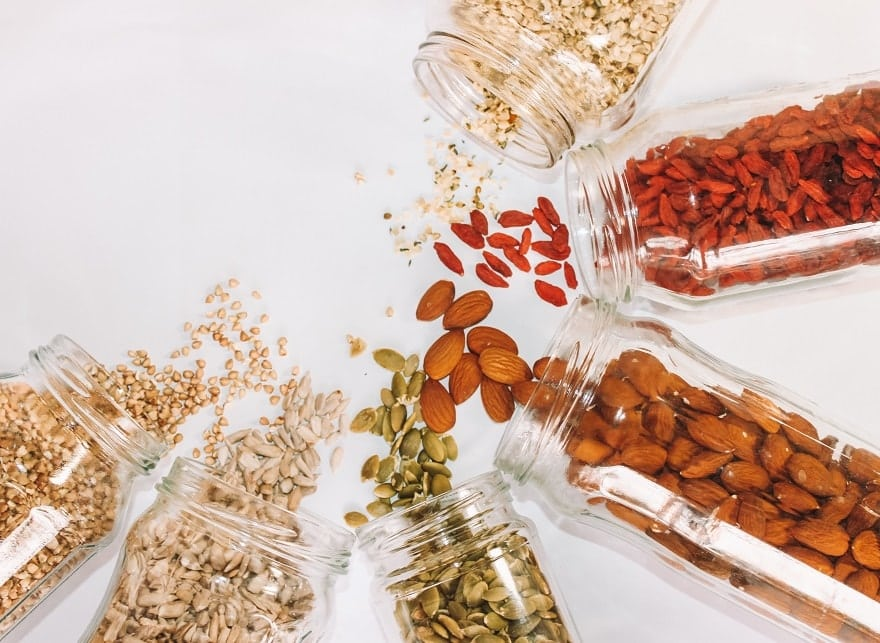 almond and nuts fat burning foods and ingredient