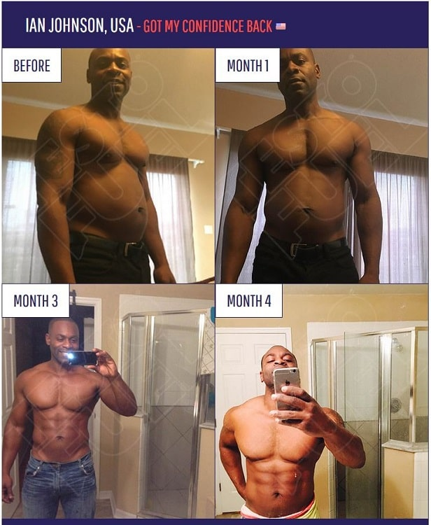 TestoFuel Before and After - Ian Johnson Testimonial