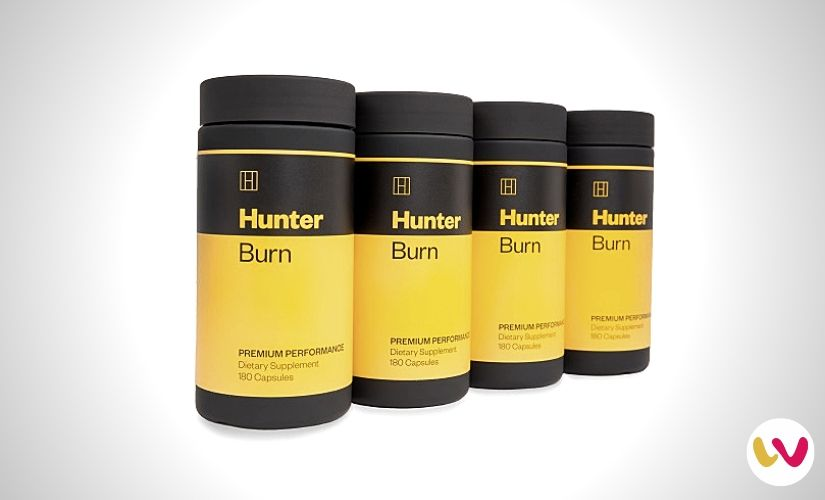 Hunter Burn Premium Fat Burner Supplement