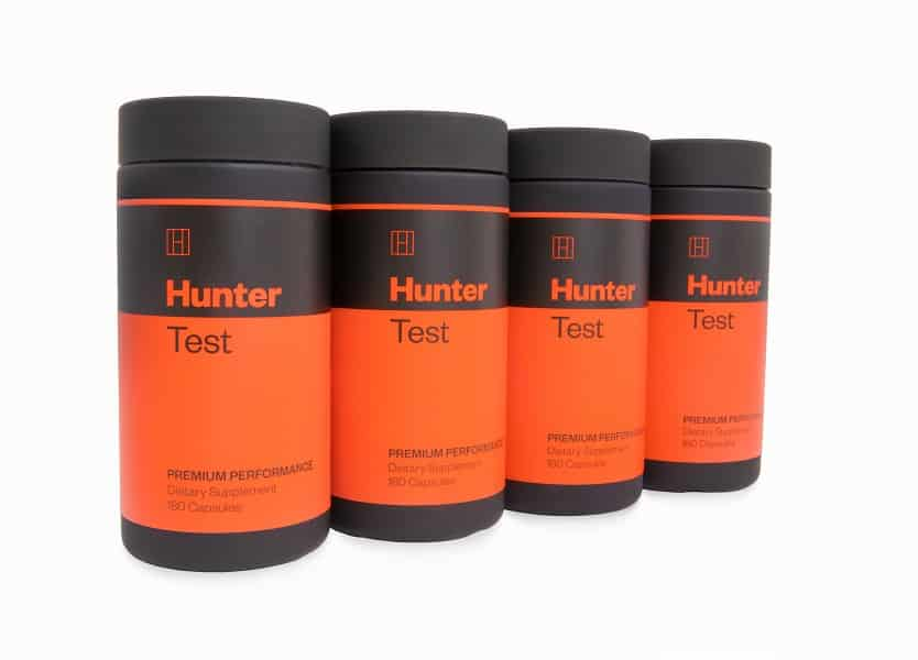 Hunter Test Four Bottles