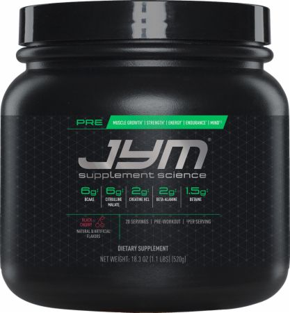 Pre Jym by Jym Stoppani - Best Pre-workout Supplement
