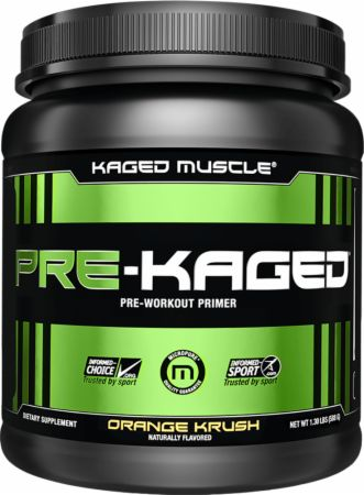 Pre-Kaged by Kaged Muscle - Best Pre-workout Supplement