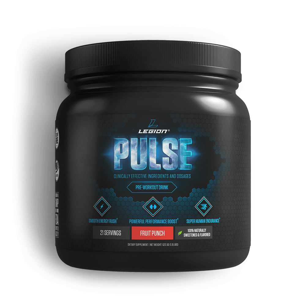 Pulse Pre-workout Legion Athletic - Best Pre-workout Supplement