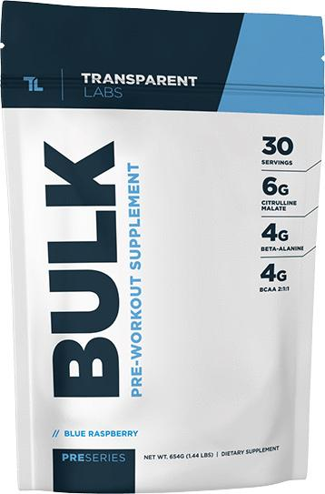 Transparent Labs Bulk Pre-workout Supplement