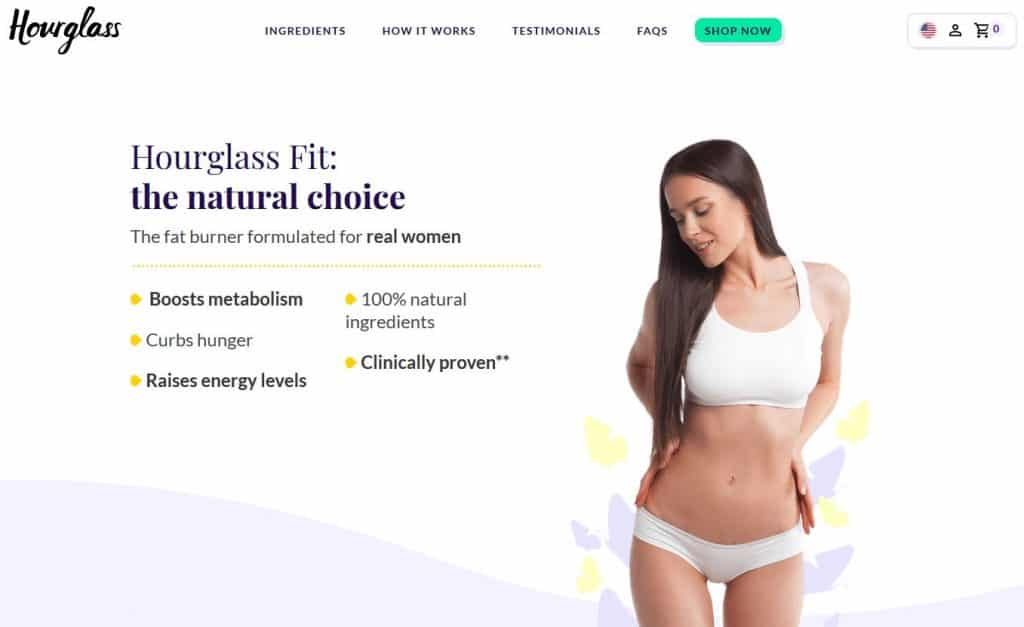Hourglass Fit Website
