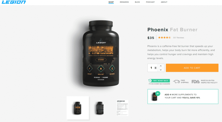 Phoenix Fat Burner