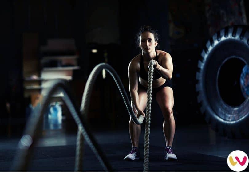 Battle Ropes - Best Fat Burning Exercises